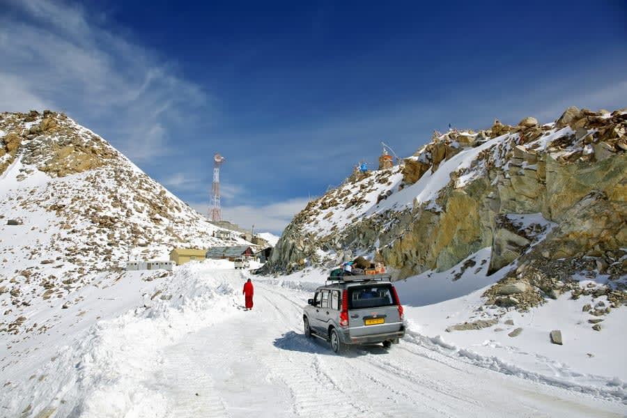 Day 3 Leh to Khardung-la | Drive to the World's Highest Motorable Road (18000 ft.)