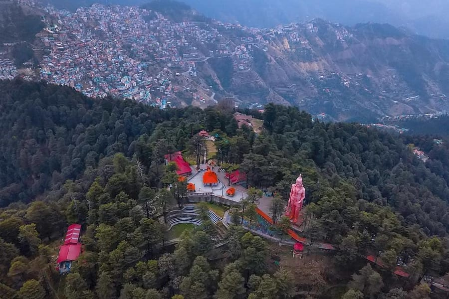 Day 2 Sightseeing in Shimla and Excursion to Kufri | A Haven for Nature Enthusiasts with Beautiful Hiking Trails