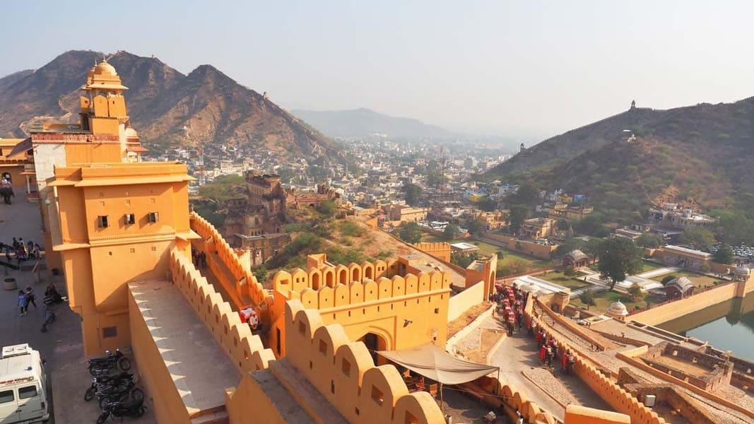 """Day 1 Arrival at Jaipur   Welcome to the """"Pink City of India"""